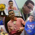A mosaic of different photos of Ahmed Al Naggar